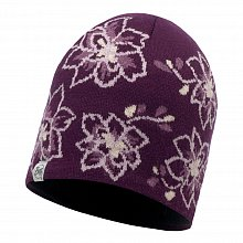 Шапка BUFF KNITTED & POLAR HAT ALLIE PURPPLE DEWBERRY