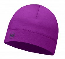 Шапка BUFF MICROFIBER 1 LAYER HAT SOLID AMARANTH PURPLE