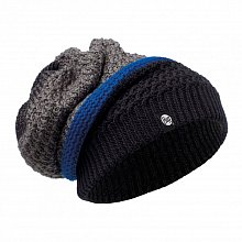 Шапка BUFF KNITTED NECKWARMER HAT RIDLE BLACK
