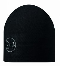 Шапка BUFF MICROFIBER 2 LAYERS HAT BUFF SOLID CHIC BLACK