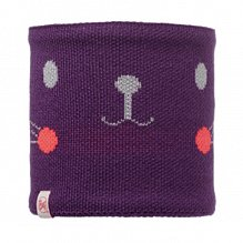 Шарф BUFF KNITTED KIDS COLLECTION CHILD KNITTED & POLAR NECKWARMER BUFF NOVY RABBIT PLUM