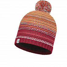 Шапка BUFF KNITTED & POLAR HAT BUFF NEPER RED SAMBA-SAMBA-Standard/OD