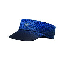 Кепка BUFF PACK RUN VISOR R-EQUILATERAL CAPE BLUE