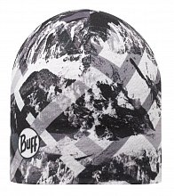 Шапка BUFF MICROFIBER REVERSIBLE HAT BUFF MOUNTAINTOP GREY - BLACK