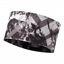 Повязка BUFF HEADBAND MOUNTAINTOP GREY