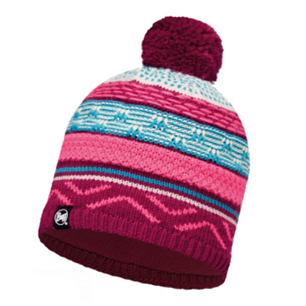 Шапка BUFF KNITTED & POLAR HAT BUFF SWITCH PINK CERISSE-PINK CERISSE-Standard