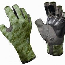 Перчатки рыболовные BUFF Angler Gloves PS Skoolin Sage
