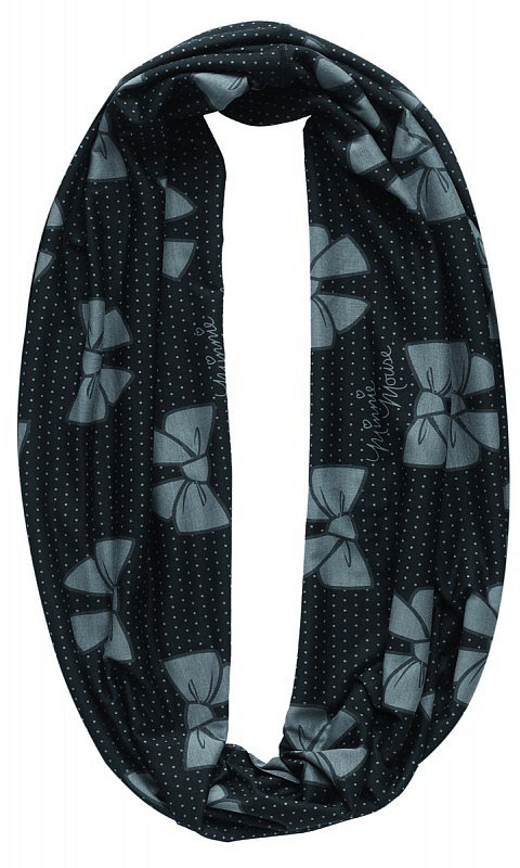 Bow Dotty Black