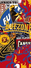 Бандана BUFF TUBULAR UV JUNIOR BUFF BUFFZONE