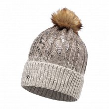 Шапка BUFF KNITTED HAT NISSE BROWN TAUPE