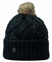 Шапка BUFF KNITTED HATS BUFF NADIA CHIC BLACK