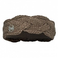 Повязка BUFF SKI CHIC COLLECTION KNITTED & POLAR HEADBAND BUFF NYSSA BROWN