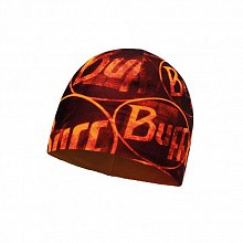 Шапка BUFF MICRO POLAR HAT BUFF MICROFIBER & POLAR HAT BUFF MULTI LOGO ORANGE FLUOR