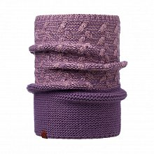 Шарф BUFF KNITTED COLLAR KIAM DEEP GRAPE