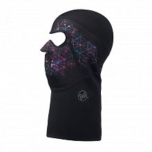 Маска (балаклава) BUFF CROSS TECH BALACLAVA LIGHT SPARKS BLACK S/M