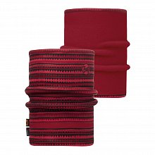 Шарф BUFF REFLECTIVE BUFF REVERSIBLE POLAR NECKWARMER BUFF PICUS RED / RED/OD