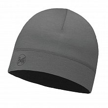 Шапка BUFF THERMONET HAT SOLID GREY CASTLEROCK