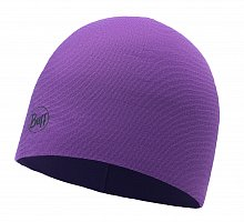 Шапка BUFF MICROFIBER & POLAR HAT AMARANTH PURPLE STRIPES