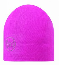 Шапка BUFF MICROFIBER 2 LAYERS HAT BUFF SOLID CHIC MAGENTA