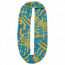 Бандана BUFF LEISURE COLLECTION COTTON JACQUARD INFINITY BUFF ALYX  BLUE CAPRI