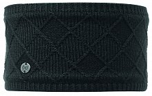 Повязка BUFF HEADBAND BUFF Knitted&Polar Fleece STELLA CHIC BLACK