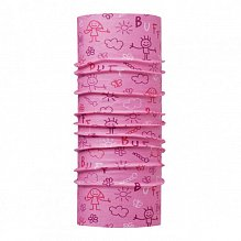 Шарф BUFF Original Buff BABY ORIGINAL BUFF DRAWING PINK