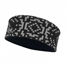 Повязка BUFF SKI CHIC COLLECTION KNITTED & POLAR HEADBAND BUFF WHISTLER BLACK