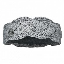 Повязка BUFF SKI CHIC COLLECTION KNITTED & POLAR HEADBAND BUFF NYSSA LIGHT GREY