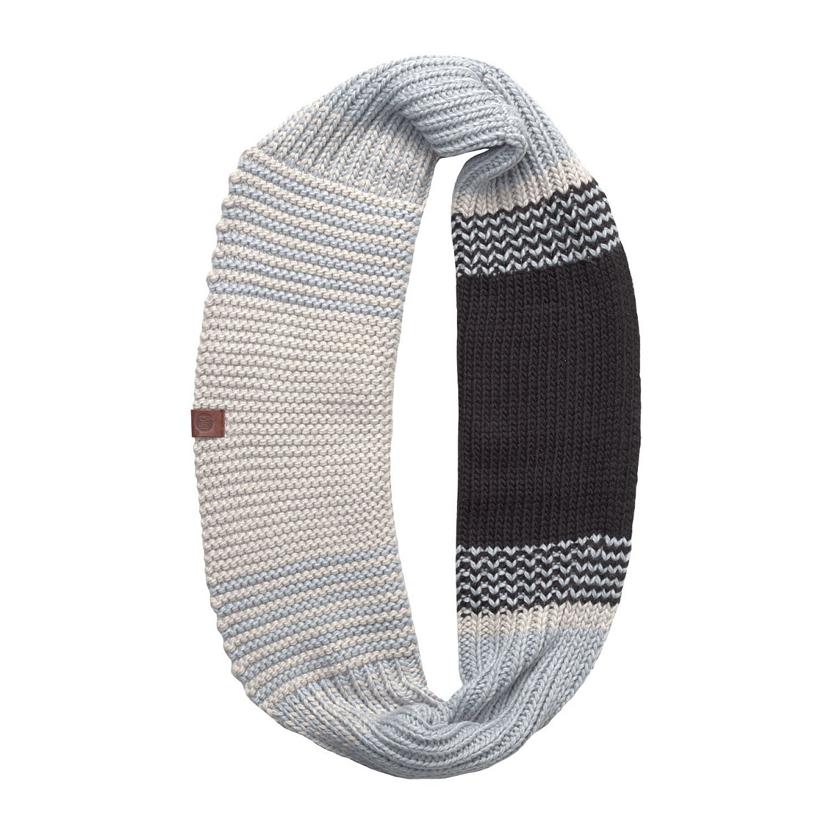 Шарф BUFF KNITTED INFINITY BORAE GREY