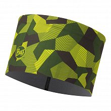 Повязка BUFF TECH FLEECE HEADBAND BLOCK CAMO GREEN