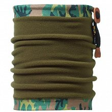 Бандана BUFF Angler Neckwarmer BUFF CAMU / MILITARY